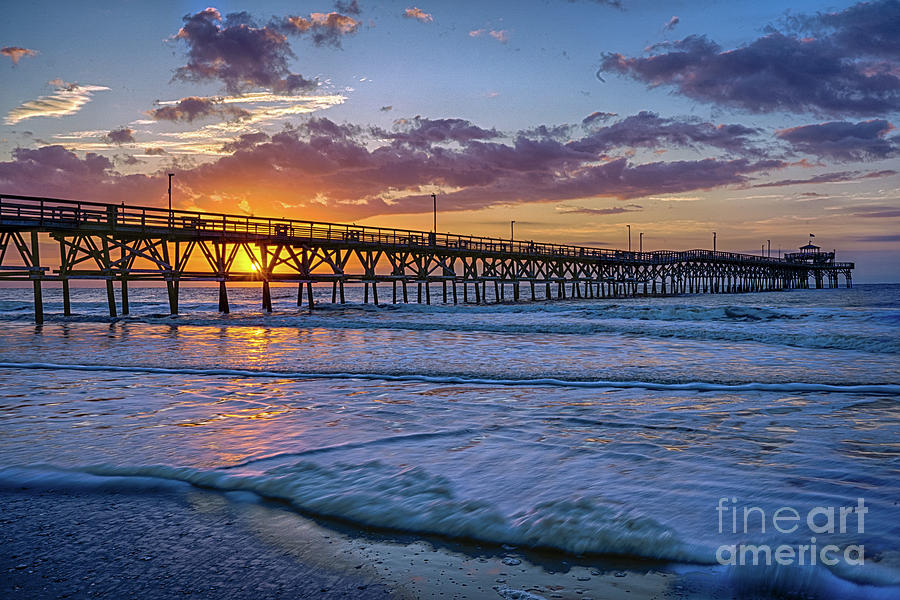 Cherry Grove Purple Sunrise by David Smith