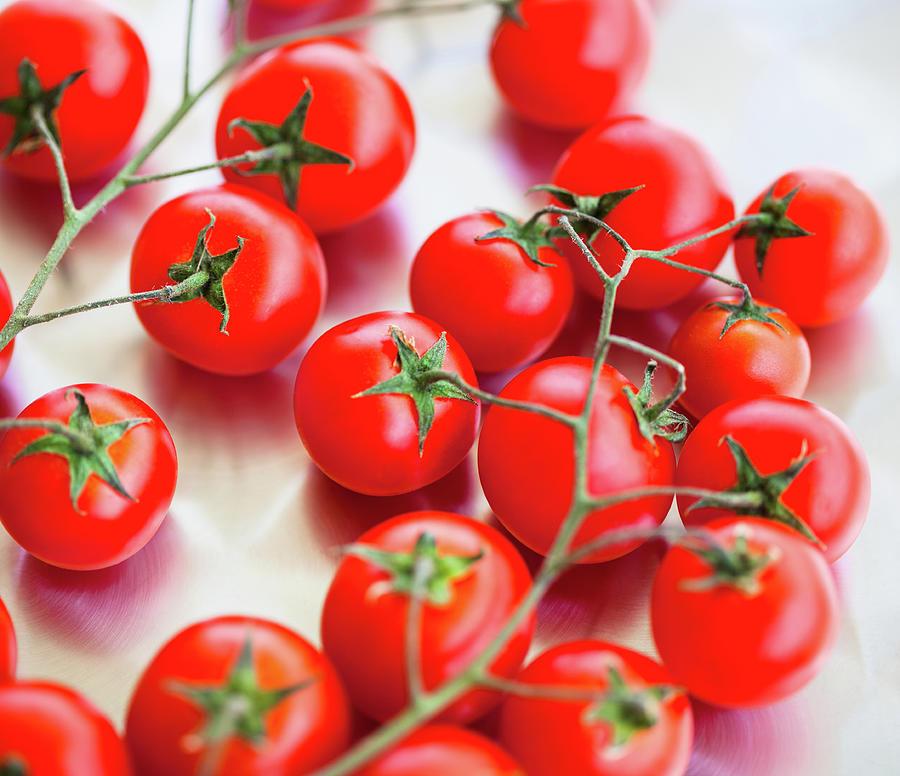 Cherry Tomato Photograph by Jasmina007