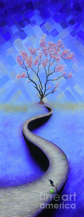 Cherry Tree Fantasy by Mary Scott