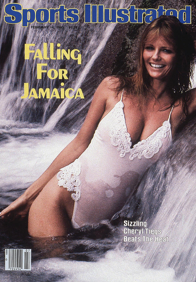 Cheryl Tiegs Swimsuit 1983 Sports Illustrated Cover Photograph by Sports Illustrated