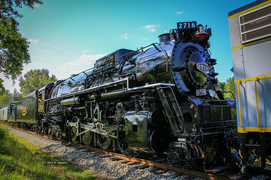 Chesapeake and Ohio 2716 by Dale R Carlson