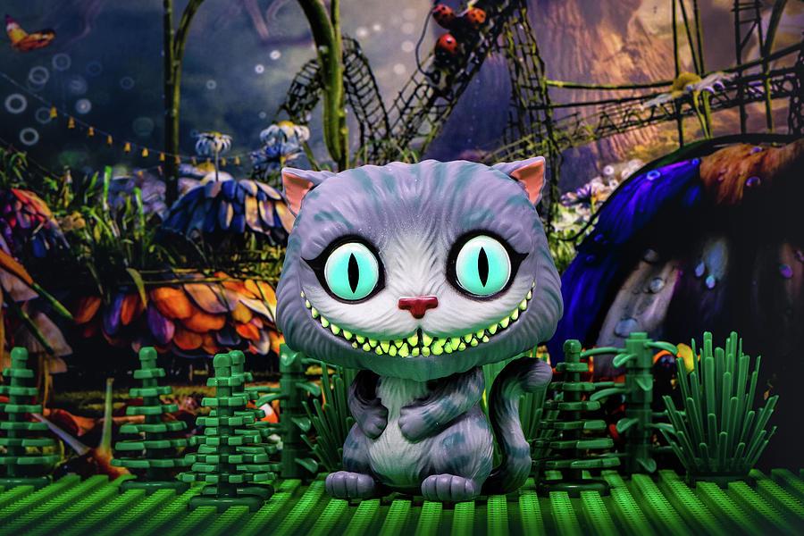 Cheshire Cat  by Joseph Caban