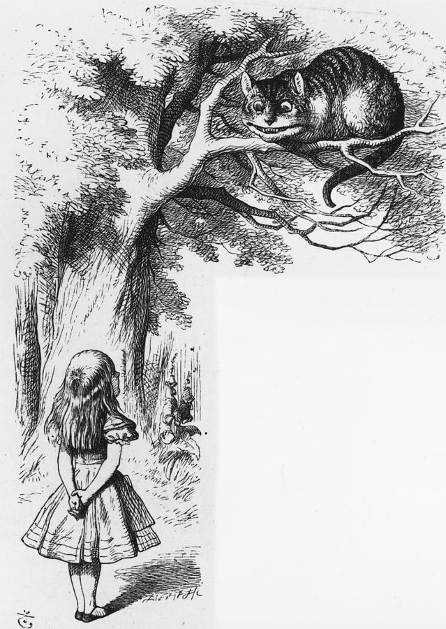 Cheshire Cat Digital Art by Rischgitz