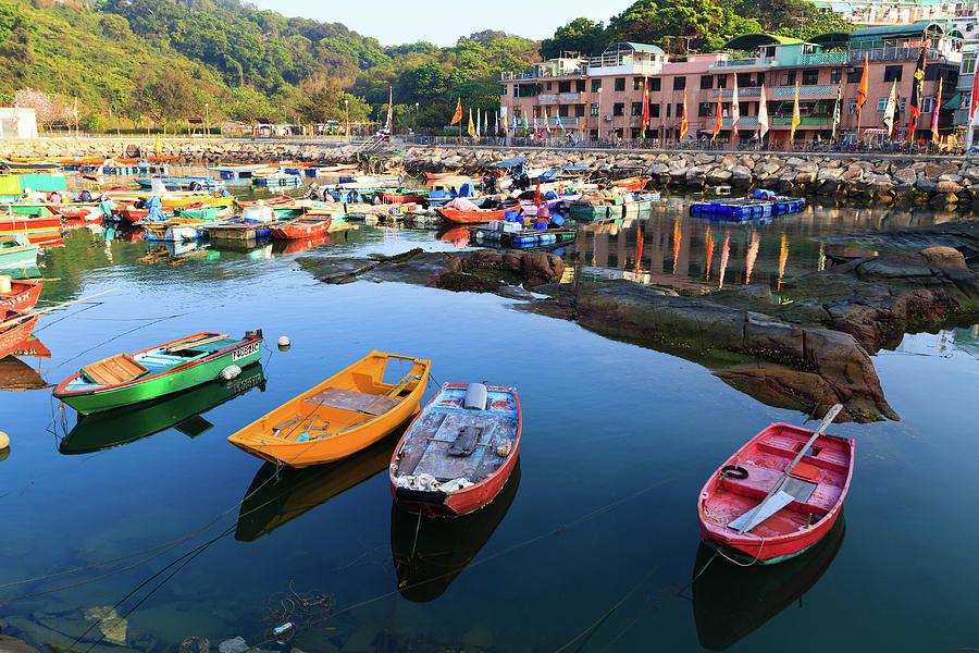 Cheung Chau Harbor Photograph by Loic Lagarde