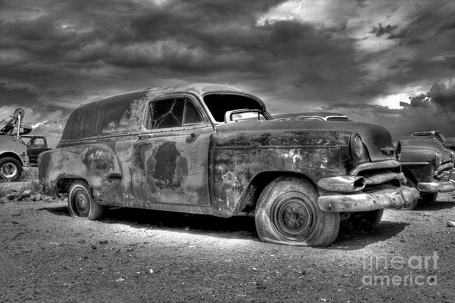 Chevrolet Sedan Delivery - BW by Tony Baca