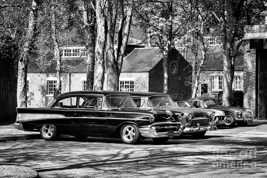 Chevrolet Photograph - Chevrolets Monochrome by Tim Gainey