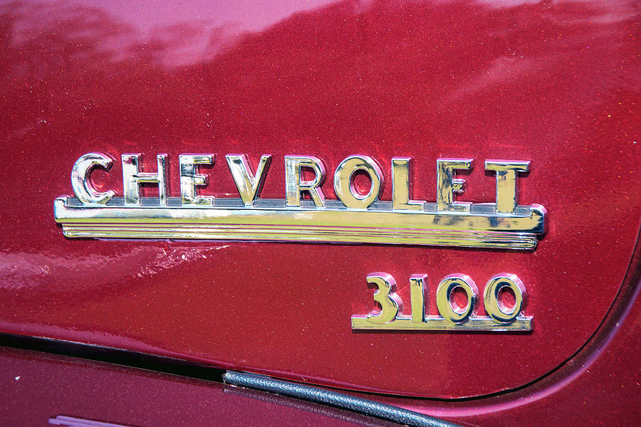 Chevy 3100 Truck Logo by Kristia Adams