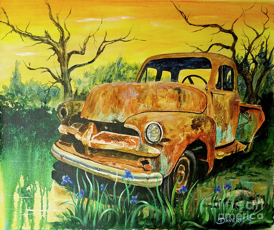 Chevy Bog by Paint The Floor-Mark Davern