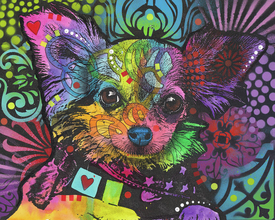 Chi Chi Mixed Media - Chi Chi by Dean Russo
