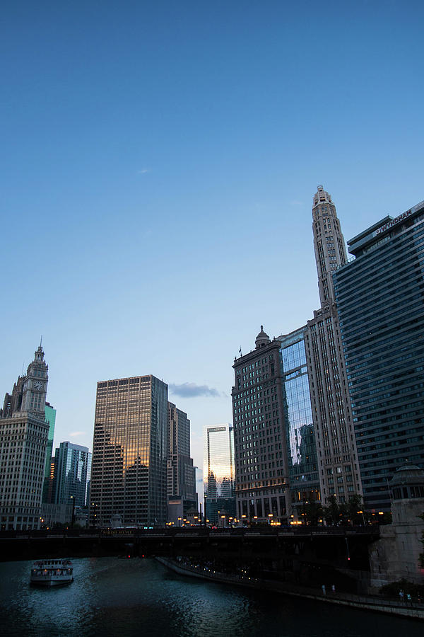 Chicago At Dusk Photograph