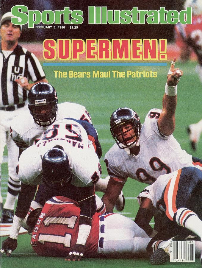 Chicago Bears Dan Hampton, Super Bowl Xx Sports Illustrated Cover Photograph by Sports Illustrated