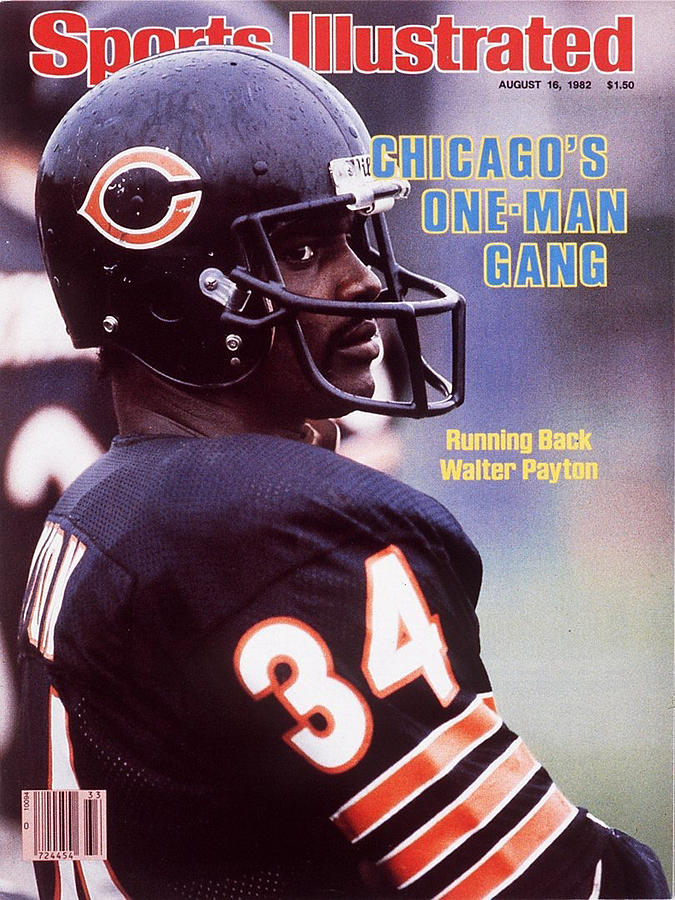 Chicago Bears Walter Payton Sports Illustrated Cover Photograph by Sports Illustrated