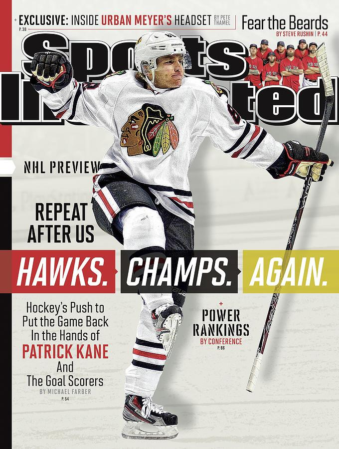 Chicago Blackhawks Patrick Kane, 2013-14 Nhl Hockey Season Sports Illustrated Cover Photograph by Sports Illustrated