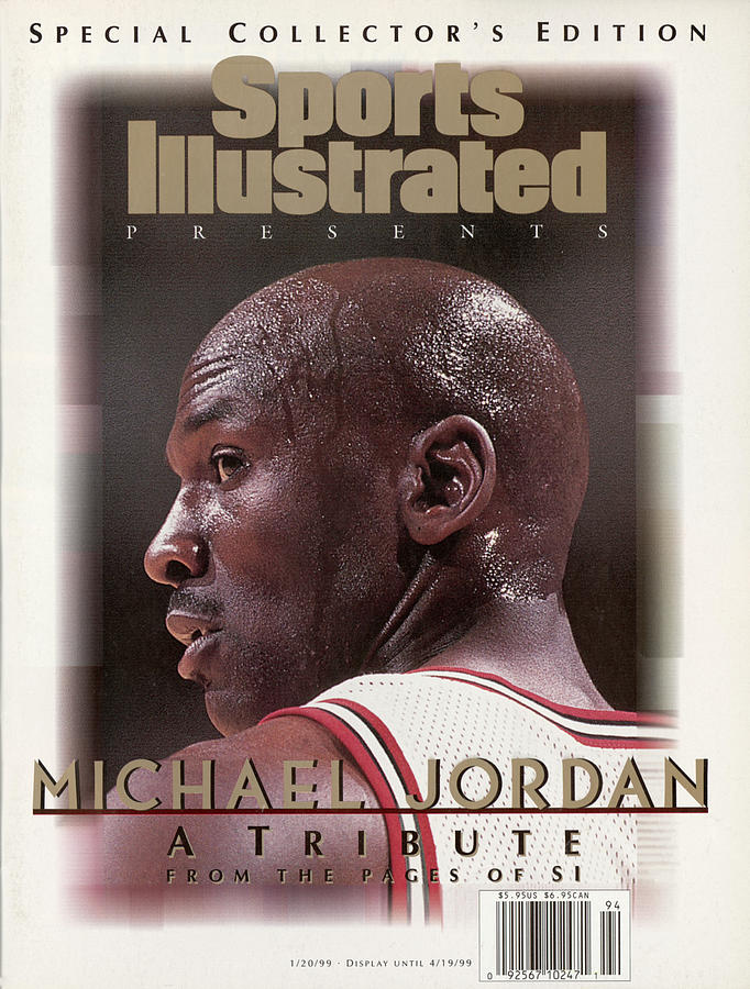 Chicago Bull Michael Jordan, 1998 Nba Eastern Conference Sports Illustrated Cover Photograph by Sports Illustrated