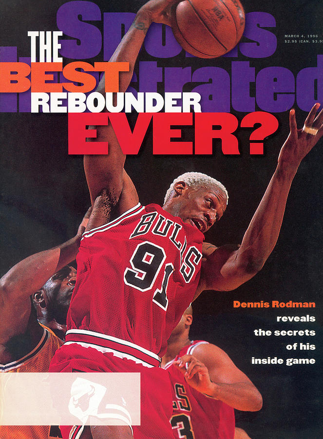 Chicago Bulls Dennis Rodman... Sports Illustrated Cover Photograph by Sports Illustrated