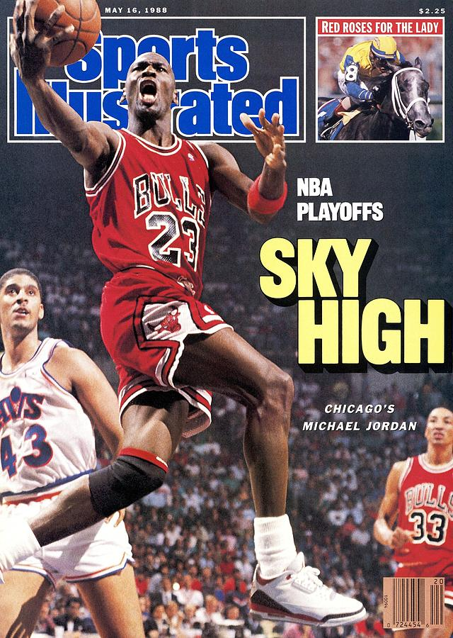 Chicago Bulls Michael Jordan, 1988 Nba Eastern Conference Sports Illustrated Cover Photograph by Sports Illustrated