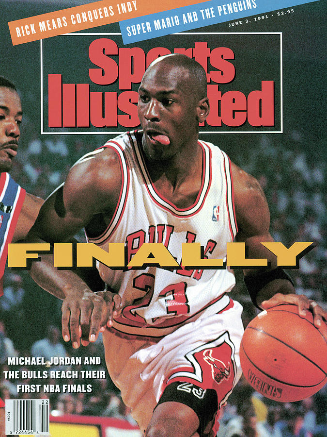 Chicago Bulls Michael Jordan, 1991 Nba Eastern Conference Sports Illustrated Cover Photograph by Sports Illustrated