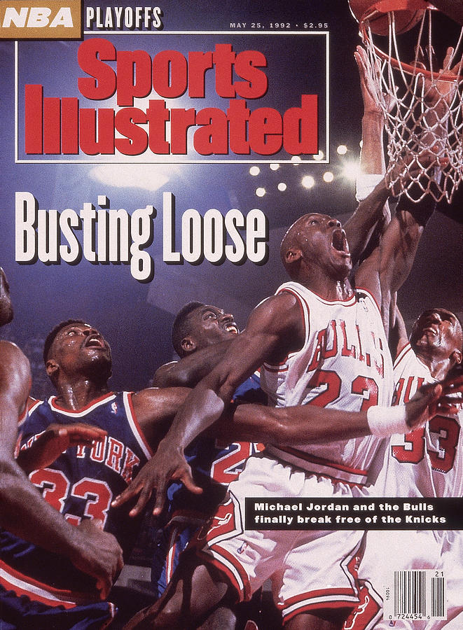 Chicago Bulls Michael Jordan, 1992 Nba Eastern Conference Sports Illustrated Cover Photograph by Sports Illustrated