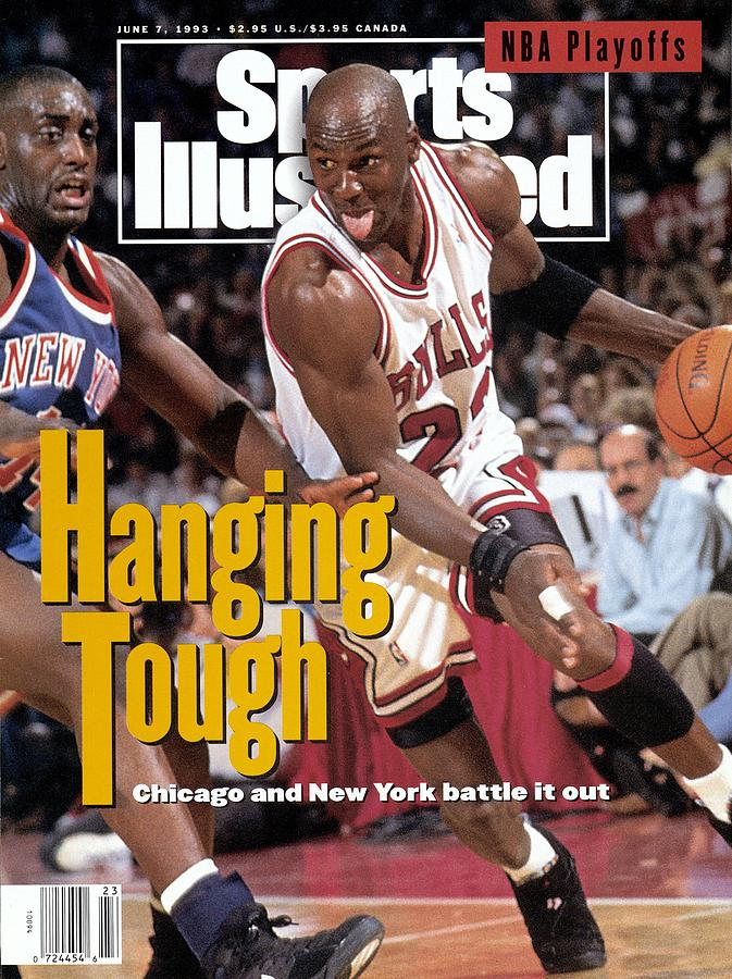 Chicago Bulls Michael Jordan, 1993 Nba Eastern Conference Sports Illustrated Cover Photograph by Sports Illustrated