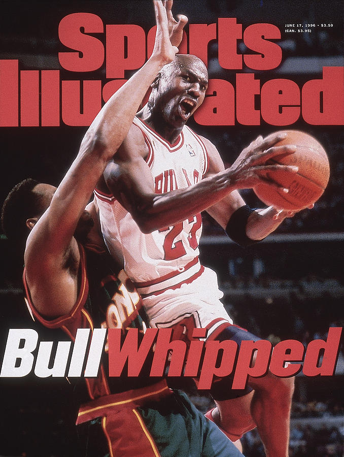 Chicago Bulls Michael Jordan, 1996 Nba Finals Sports Illustrated Cover Photograph by Sports Illustrated