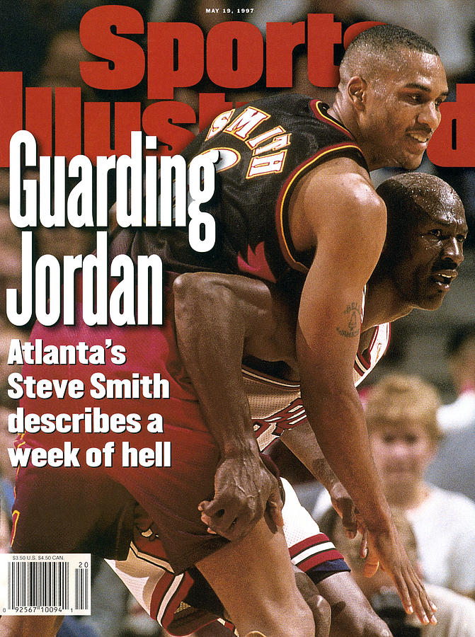 Chicago Bulls Michael Jordan, 1997 Nba Eastern Conference Sports Illustrated Cover Photograph by Sports Illustrated