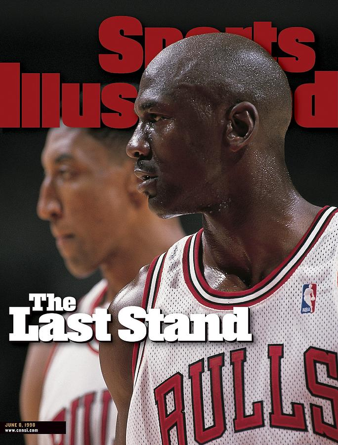 Chicago Bulls Michael Jordan And Scottie Pippen, 1998 Nba Sports Illustrated Cover Photograph by Sports Illustrated