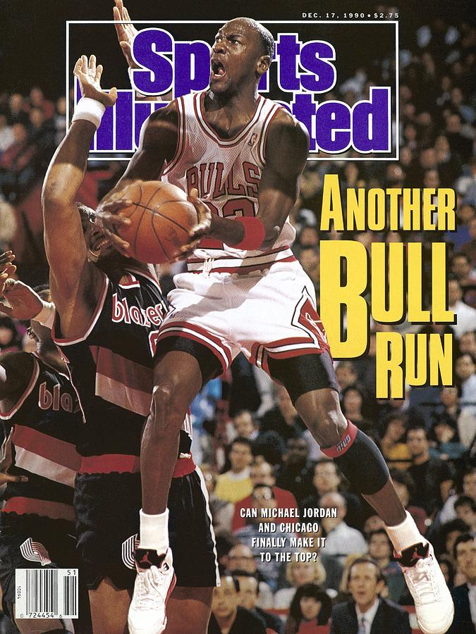 Chicago Bulls Michael Jordan Sports Illustrated Cover Photograph by Sports Illustrated