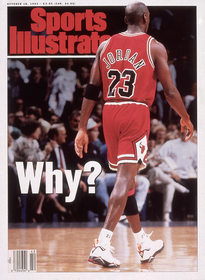 Chicago Bulls Michael Jordan Retires Sports Illustrated Cover Photograph by Sports Illustrated