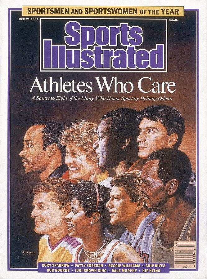 Chicago Bulls Rory Sparrow, Patty Sheehan, Cincinnati Sports Illustrated Cover Photograph by Sports Illustrated