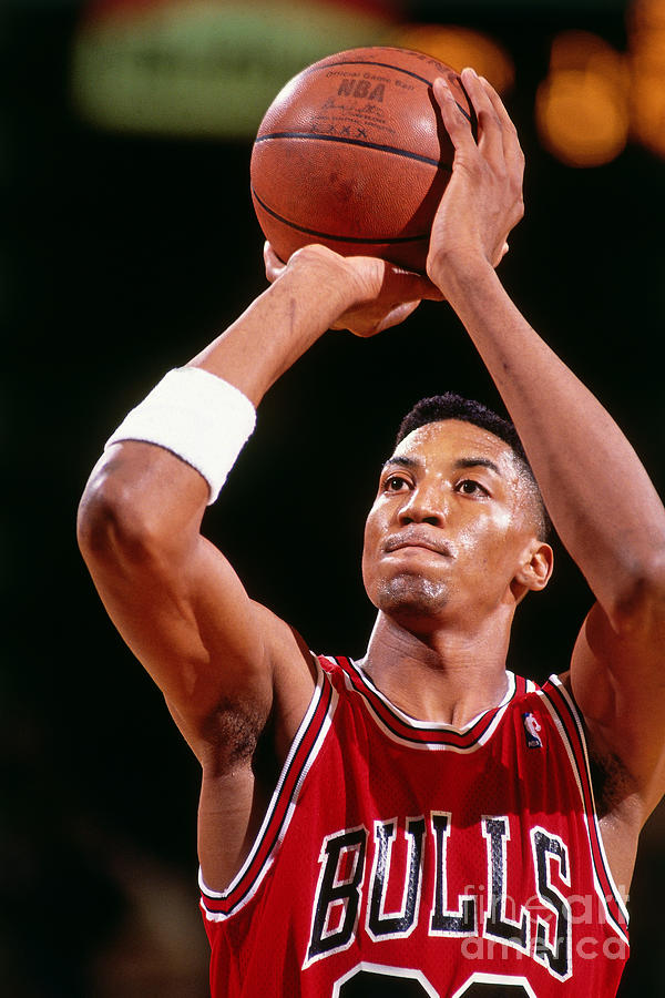 Chicago Bulls Scottie Pippen Photograph by Nathaniel S. Butler