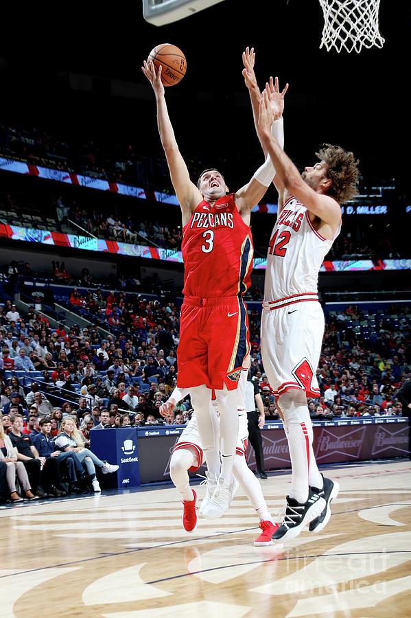 Chicago Bulls V New Orleans Pelicans Photograph by Layne Murdoch Jr.
