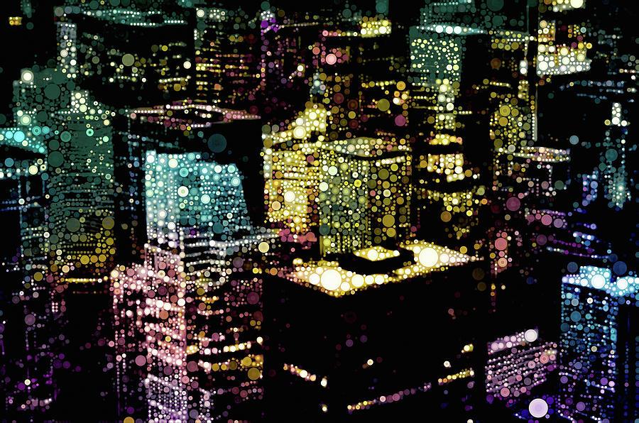 Chicago City Lights by Susan Maxwell Schmidt