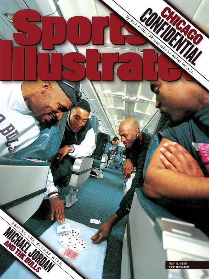 Chicago Confidential Behind The Scenes With Michael Jordan Sports Illustrated Cover Photograph by Sports Illustrated
