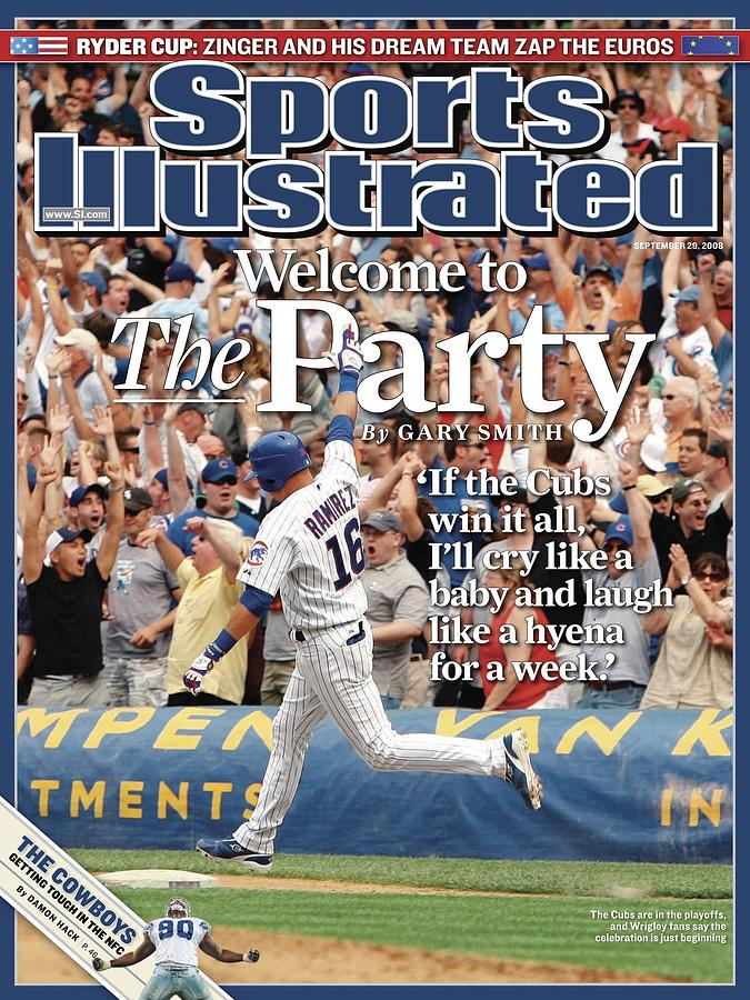 Chicago Cubs Aramis Ramirez... Sports Illustrated Cover Photograph by Sports Illustrated