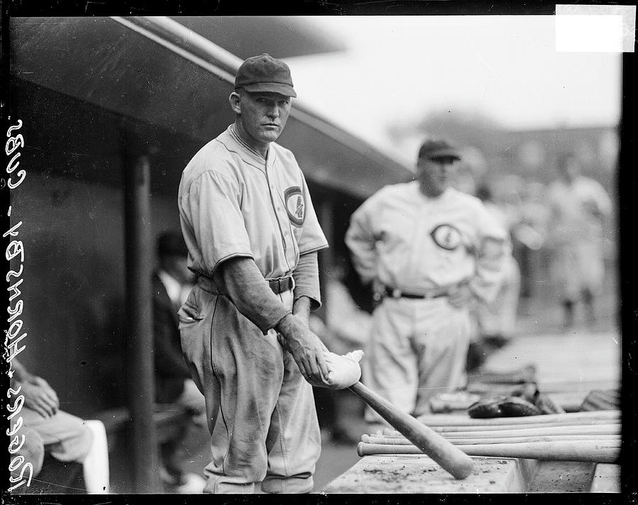 Chicago Cubs Baseball Player Rogers Photograph by Chicago History Museum