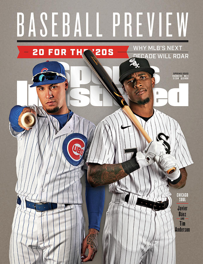 Chicago Cubs Javier Baez And Chicago White Sox Tim Sports Illustrated Cover Photograph by Sports Illustrated
