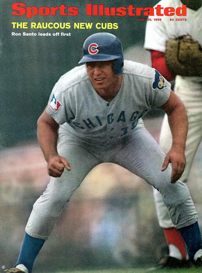 Chicago Cubs Ron Santo... Sports Illustrated Cover Photograph by Sports Illustrated