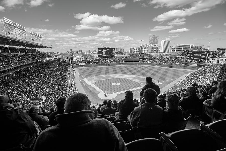 Chicago Cubs Stadium by Britten Adams