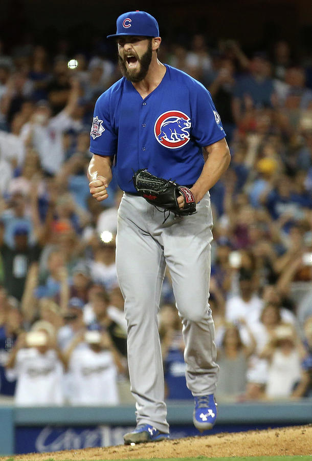 Chicago Cubs V Los Angeles Dodgers Photograph by Stephen Dunn