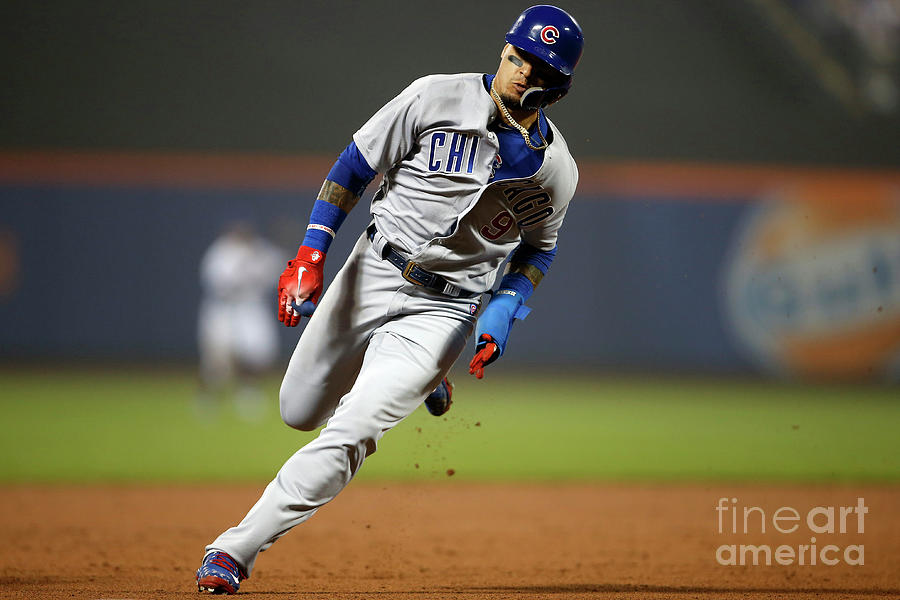 Chicago Cubs V New York Mets Photograph by Adam Hunger
