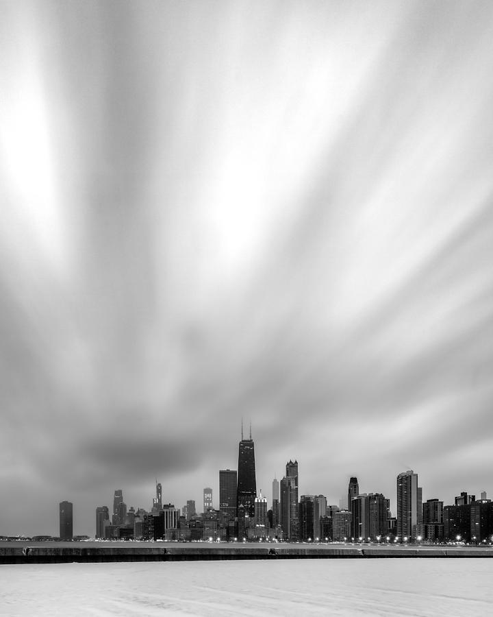 Chicago December Morning by Matt Hammerstein