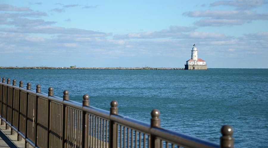 Chicago Harbor Lighthouse by Corinne Rhode