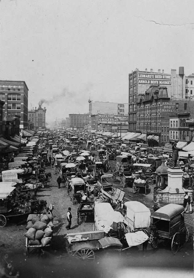 Chicago Haymarket Photograph by Hulton Archive