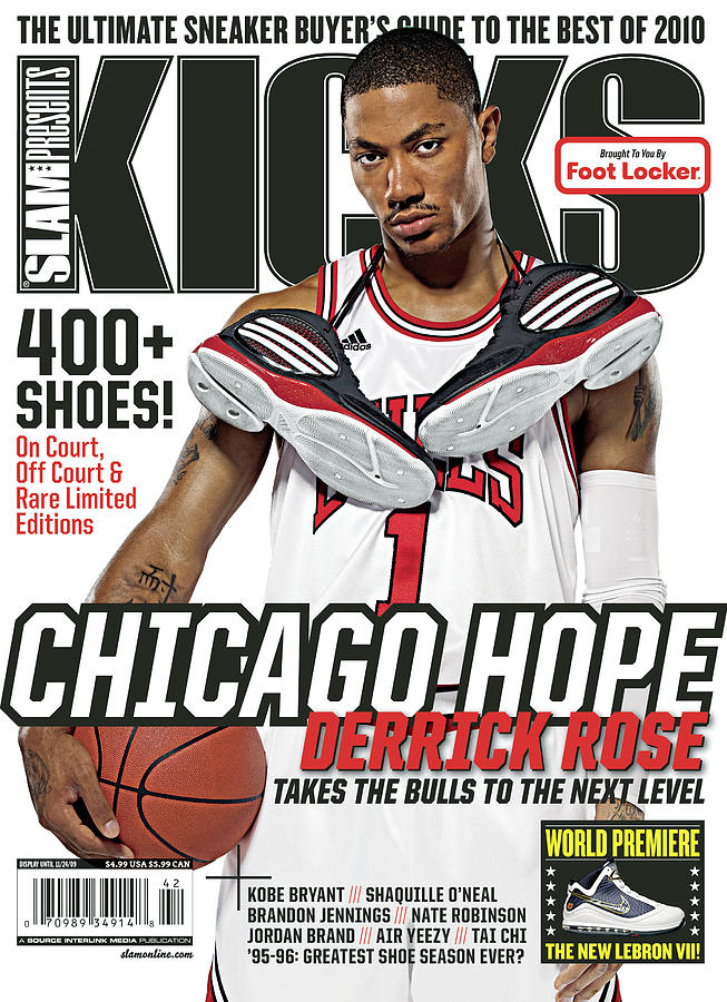 Chicago Hope: Derrick Rose Takes the Bulls to the Next Level SLAM Cover Photograph by Atiba Jefferson