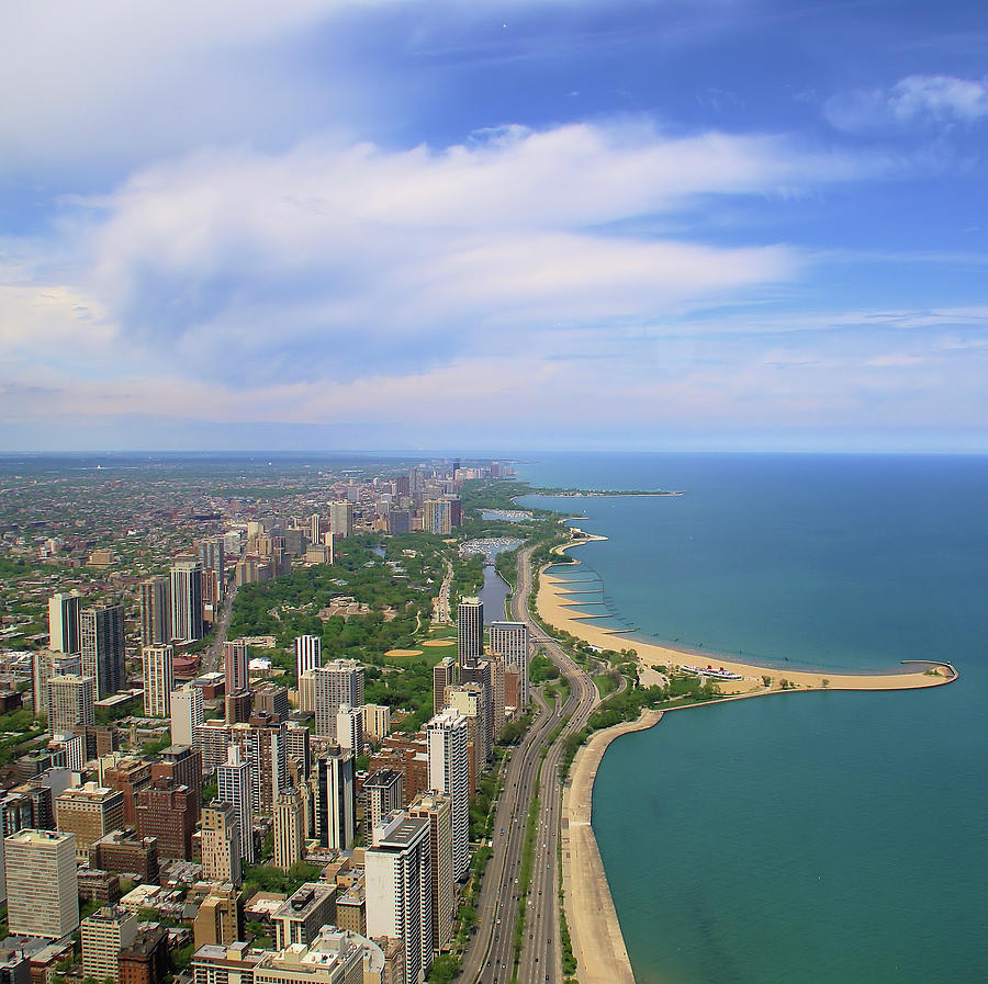 Chicago - Lake Michigan Photograph by Sabine Simons Aka Freemysoul