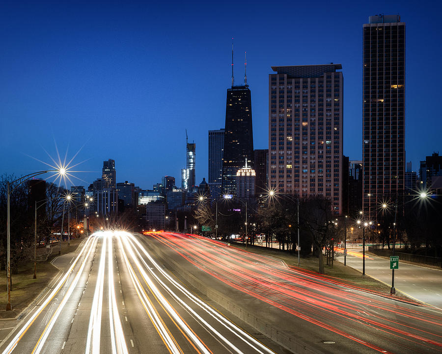Chicago Lake Shore Drive by Matt Hammerstein