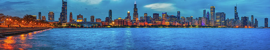 Chicago Lakefront Pano May 2019 Photograph