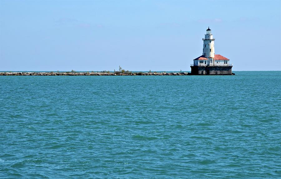 Chicago Lighthouse by Corinne Rhode