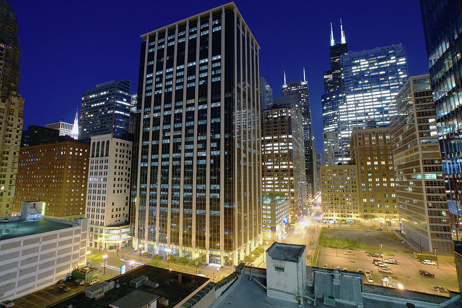 Chicago Loop Glow Photograph by Photographed By Christopher James Botham