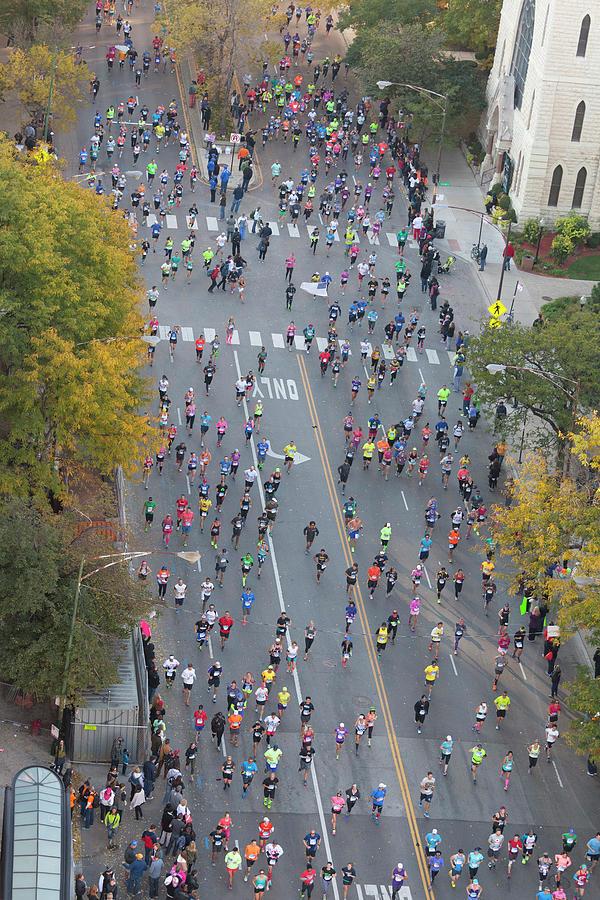 Chicago Marathon by Paul Schreiber